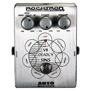 Pedal de Efeitos Rocktron VII DEADLY SINS AUTO Wah Wah para Guitarra