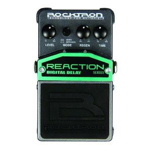 Pedal de Efeito Rocktron Reaction Digital Delay para Guitarra