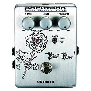 Pedal de Efeitos Rocktron Black Rose Octaver para Guitarra