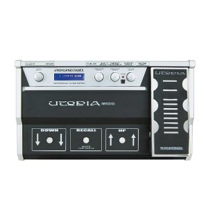 Pedaleira Multi-Efeitos Rocktron Utopia G100 para Guitarra