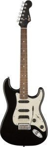 Guitarra Fender Squier Contemporary Stratocaster HSS LR Black Metallic