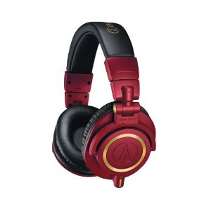 Fone de Ouvido Audio-Technica ATH-M50XRD Limited Edition Red Gold