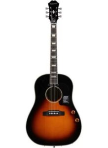 Violão Eletro-Acústico Epiphone EJ160E John Lennon Signature Vintage Sunburst