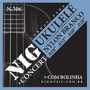 Encordoamento Nig N-306 .028/. 040 para Ukulele Concert
