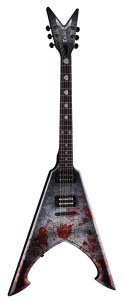 Guitarra Dean Guitars Flying V Michael Amott Tyrant Battle Axe