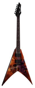 Guitarra Dean Guitars VMNT PS Flying V Dave Mustaine Peace Sells