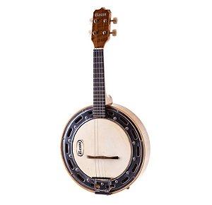 Banjo Eletro-Acústico Rozini RJ11ELN Studio Natural