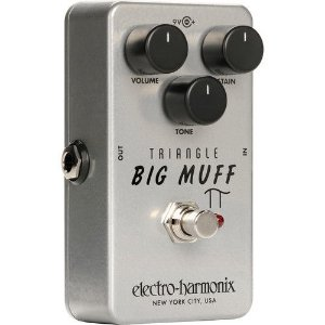 Pedal de Efeitos Electro-Harmonix Triangle Big Muff PI Distortion