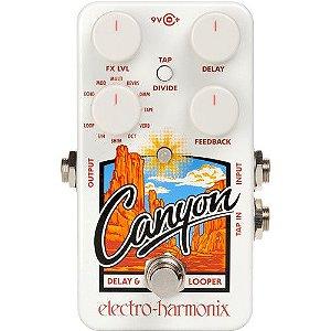 Pedal de Efeitos Electro-Harmonix Canyon Delay e Looper