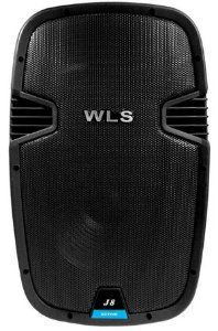 Caixa Acústica Ativa WLS J8 Pro 100W Bluetooth/ FM
