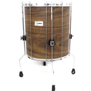 "Surdo Luen Percussion Guetto 60x18"" Cromado com Pele Animal"