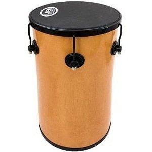 """Tantan Luen Percussion 70x14"""" Cromadas Pop Preto com 6 Afinações"""