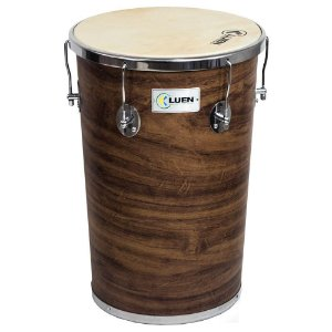 "Rebolo Cônico Luen Percussion 50""x 12""x 10"" Guetto Cromadas Pele Animal"