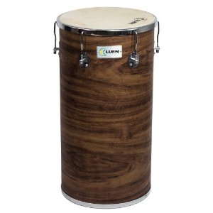 "Tantan Luen Percussion 70x14"" Guetto Cromadas Pele Animal"
