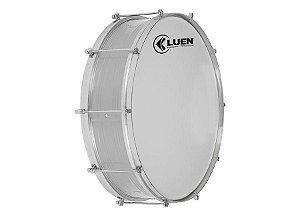 """Zabumba Luen Percussion 15x18"""" Alumínio com 8 Afinações"""
