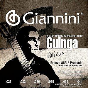 Encordoamento Giannini SSCGG .028/.044 Guinga para Violão