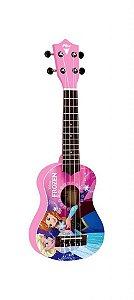 Ukulele PHX UKP-F2 Soprano 21 Frozen Pink com Capa