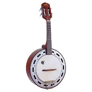 Banjo Acústico Marquês Baj-87 4 Cordas Natural