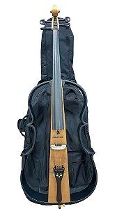 Violoncelo Marquês VCEL128 Vazado Natural com Bag
