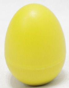 Maraca Ovinho Spanking Plástico Amarelo