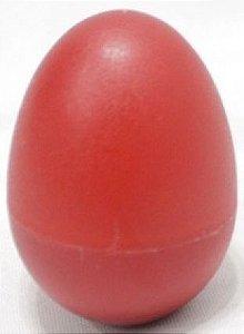 Maraca Ovinho Spanking Plástico Vermelho