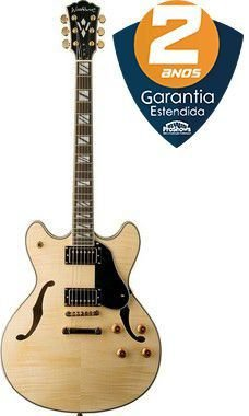 Guitarra Semi-Acústica Washburn HB35 Natural