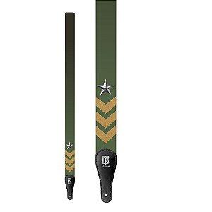 Correia Basso DE 219 Pop Art Army para Instrumento de Cordas
