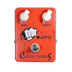 Pedal de Efeito Joyo JF-05 Classic Chorus para Guitarra