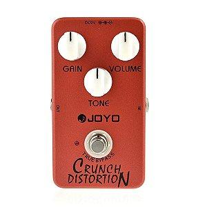 Pedal De Efeito JOYO JF-03 Crunch Distortion para Guitarra