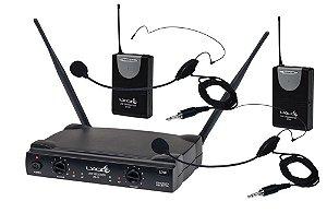 Microfone Sem fio Lyco Uh-02 HLI HLI