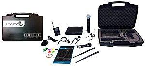 Microfone sem Fio Lyco UH-02 MHLI Duplo