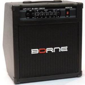 "Caixa Amplificada Borne Impact Bass CB100 1x10"" 70W"