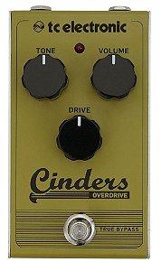 Pedal de Efeitos TC Electronic Cinders Overdrive