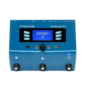 Pedaleira TC Helicon Voicelive Play