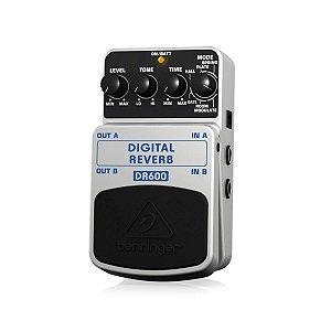 Pedal de Efeitos Behringer DR600 Digital Reverb