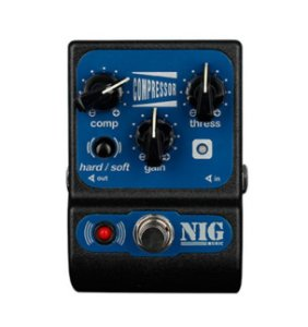Pedal Nig PCM Compressor para Guitarra