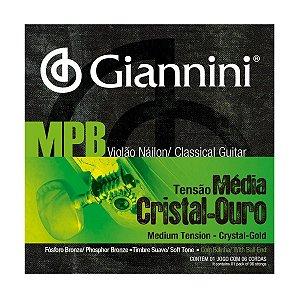 Encordoamento Giannini GENWG .028/.043 Mpb Series P/ Violão