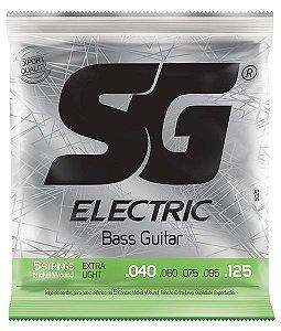 Encordoamento SG Strings 040/125 Extra Leve para Contrabaixo
