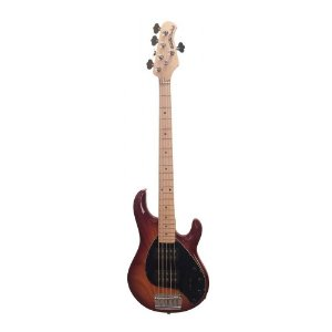 Contrabaixo 5 Cordas Music Man StingRay HH 5 MP Honey Burst