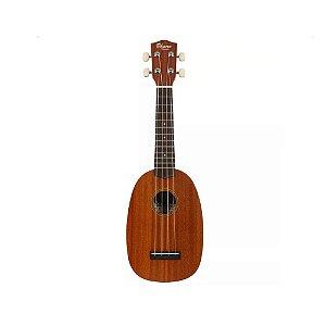 Ukulele Ohana PK-10 Pineapple Soprano com Cordas Aquila