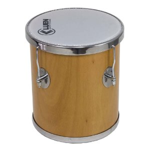 Repique de Mão Luen Percussion 30x10 Verniz Cromadas