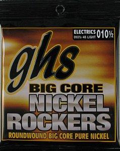 Encordoamento Ghs Bcl Big Core Nickel Rockers .010,5 /.048