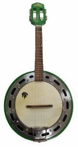 Banjo Eletro-Acústico Marquês BAJ-88 Passivo 4 Cordas Verde