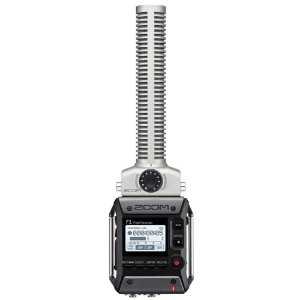 Gravador Digital Zoom F1 Field Recorder Sgh-6 F1-sp