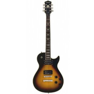Guitarra Washburn WIN DLX Deluxe Flame Vintage Sunburst