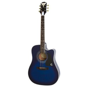Violão Eletro-Acústico Epiphone Pro-1 Ultra Folk Blue Burst