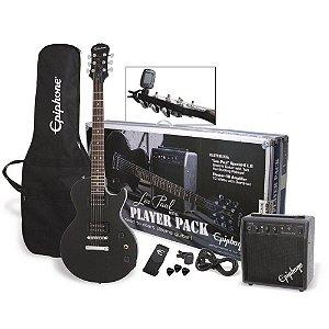 Guitarra Epiphone Les Paul Special II Kit Player Pack Black