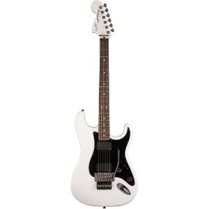 Guitarra Fender Squier Contemporary Stratocaster Floyd Rose HH LR Olympic White
