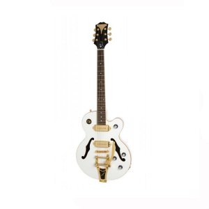 Guitarra Semi-Acústica Epiphone  Wildkat Royale Pearl White