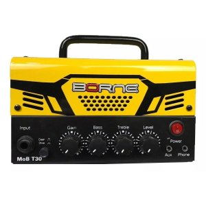 Cabeçote para Guitarra Borne MOB T30 30W Amarelo